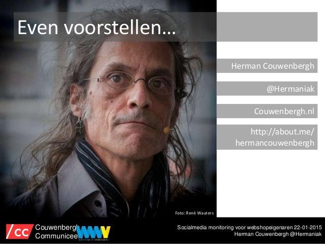 Social media monitoring met gratis tools #wwv15 Slide 2