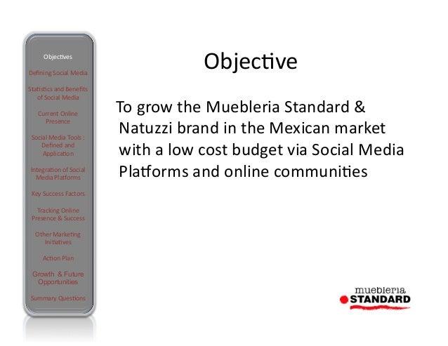 Social Media Muebleria Standard