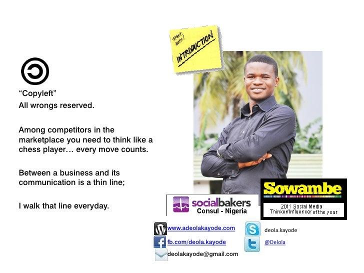 Social media , my business and i Slide 2