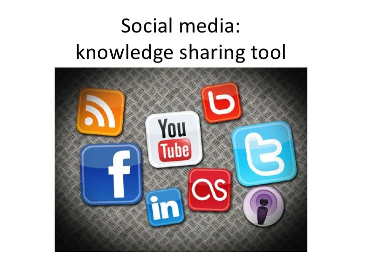 Social media: knowledge sharing tool<br />