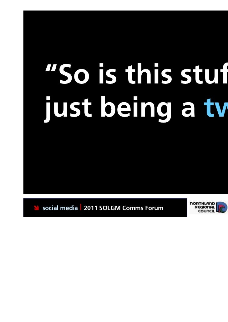 """""""So is this stuff   just being a twit?"""" social media 