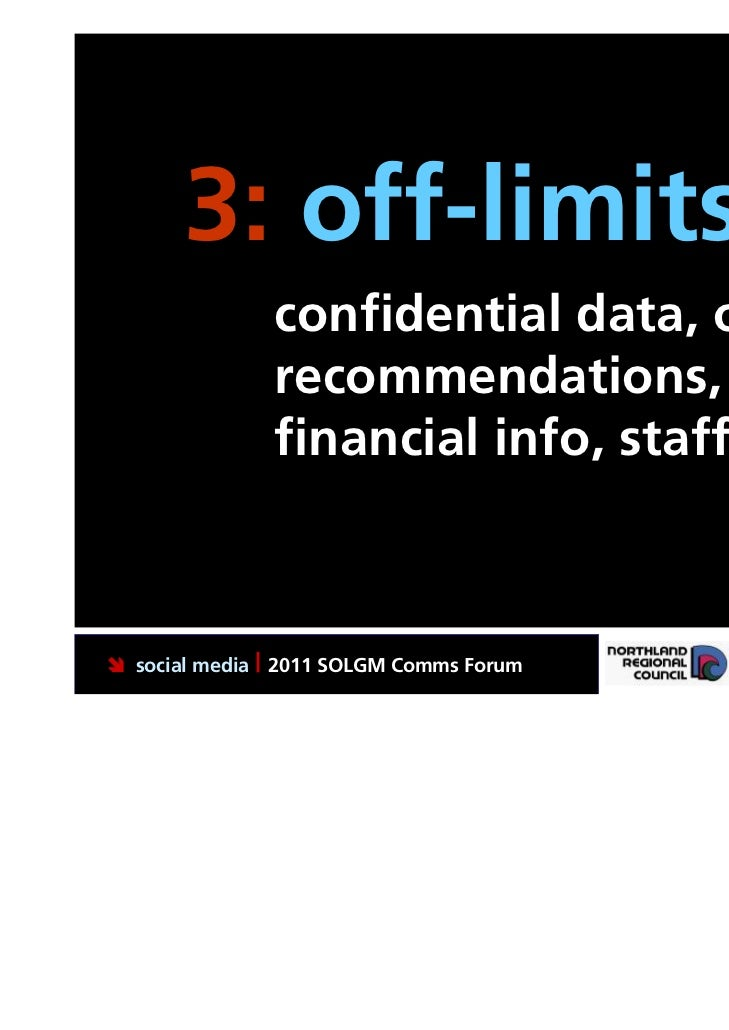 3: off-limits.               confidential data, online               recommendations,               financial info, staff ...