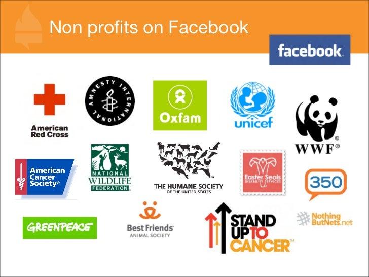 Non profits on Facebook