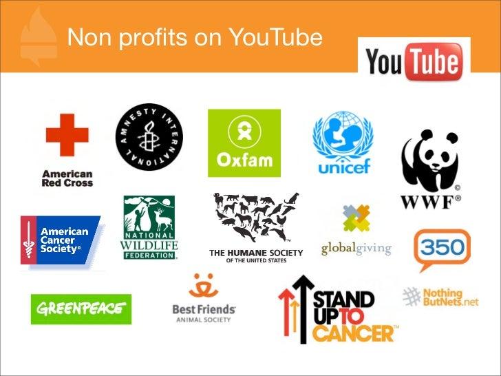 Non profits on YouTube
