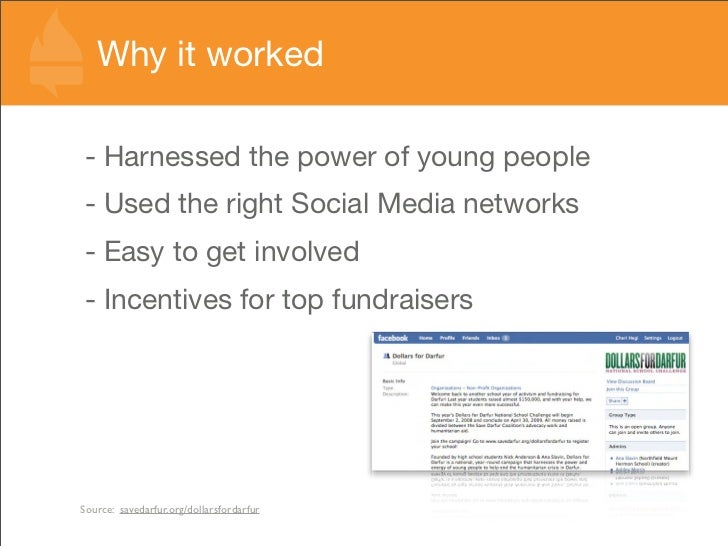 Why it worked  - Harnessed the power of young people - Used the right Social Media networks - Easy to get involved - Incen...