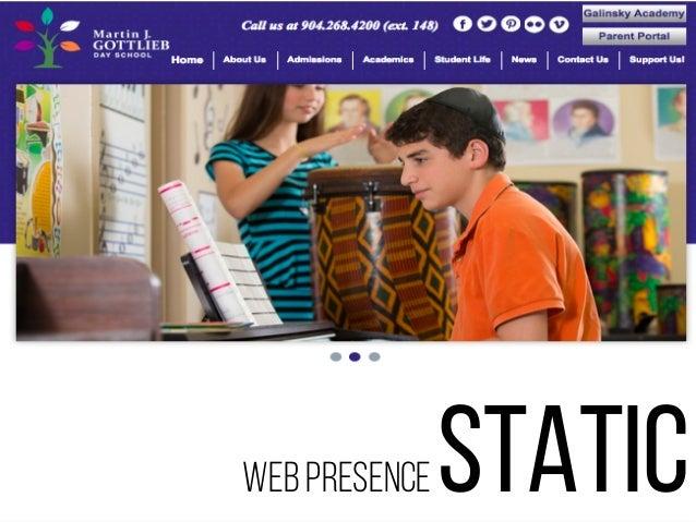 web presence dynamic