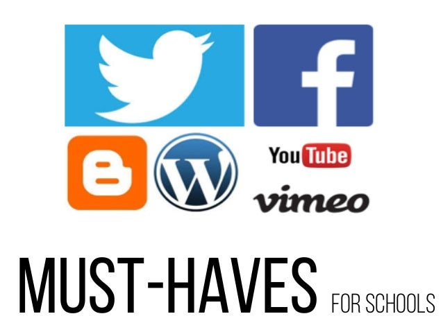 must-haves for schools