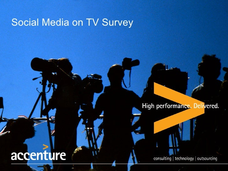 Social Media on TV Survey