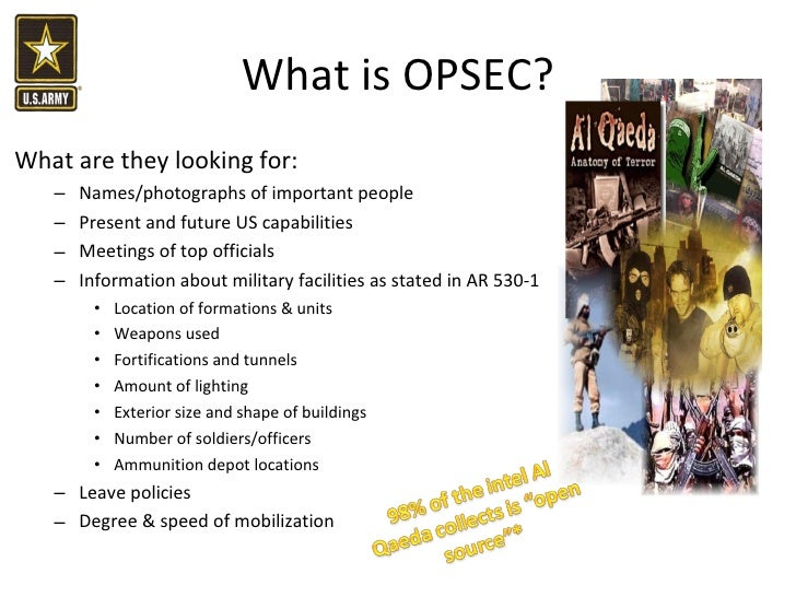 opsec The world's most comprehensive professionally edited abbreviations and acronyms database all trademarks/service marks referenced on this site are properties of their respective owners.