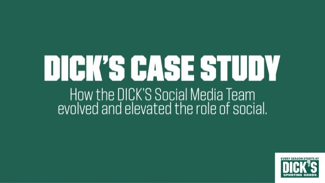 DICK'S Sporting Goods: How the DICK'S social media team evolved and elevated the role of social, presented by Mary Holahan Slide 3