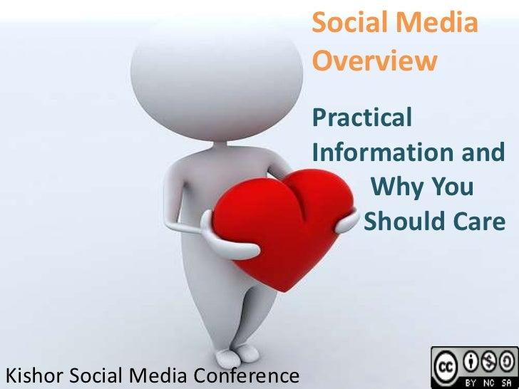 Social Media Overview<br />Practical Information and<br />         Why You<br />        Should Care <br />Kishor Social Me...