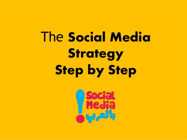 The Social Media Strategy Step by Step
