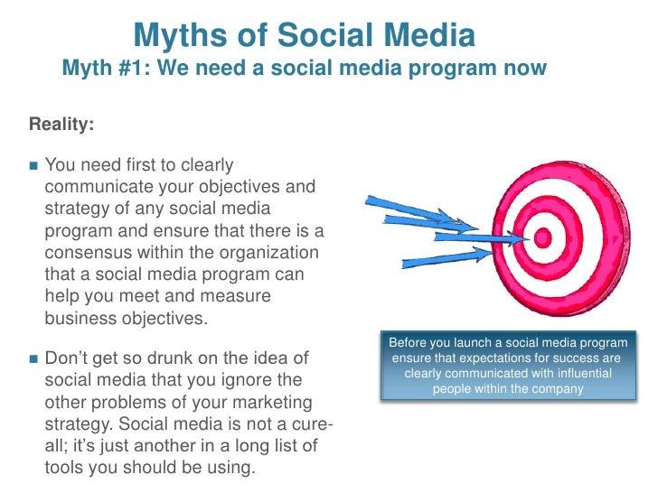 Idea And Expectations Part Ii >> Social Media Part Ii