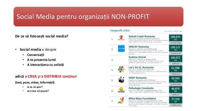 Social Media pentru ONG-uri Slide 3