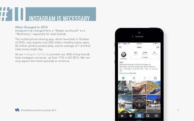 #Social media planning guide 2015 Slide 3