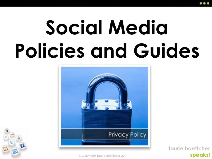 Social Media Policies and Guides<br />
