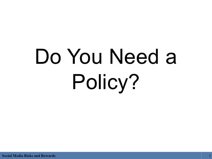 how to develop a policy