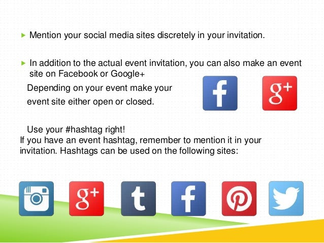 A Complete Event Communication Timeline For Social Media