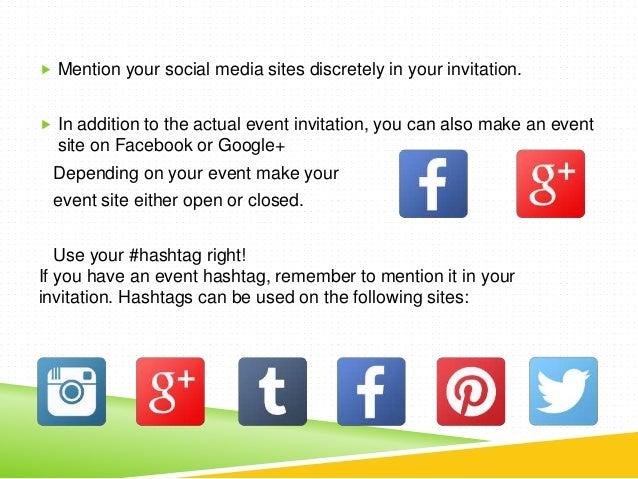 A Complete Event Communication Timeline For Social Media