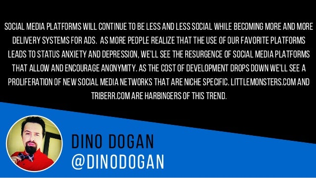 @D O M G AR R E T T D o m G a r r e t t I believe it is going to be Snapchat.Theyhave the user base that is consistently g...