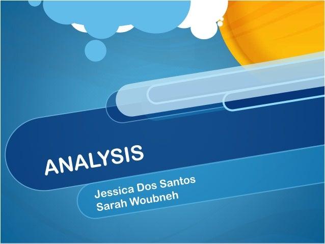 Analysis  Internal impact  External impact  Communicating