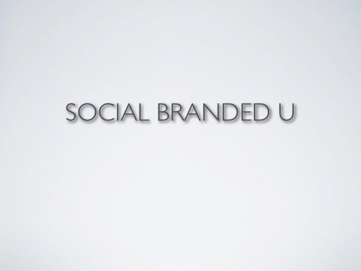SOCIAL BRANDED U