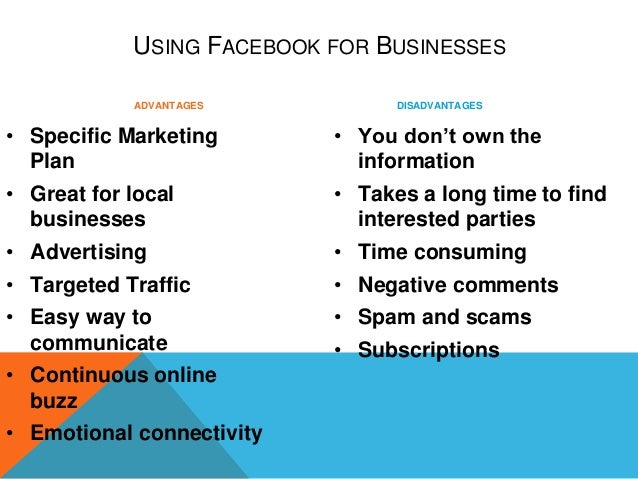 advantages and disadvantages of social networking ppt
