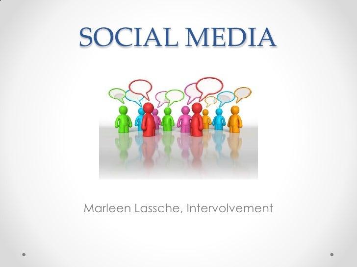 SOCIAL MEDIAMarleen Lassche, Intervolvement