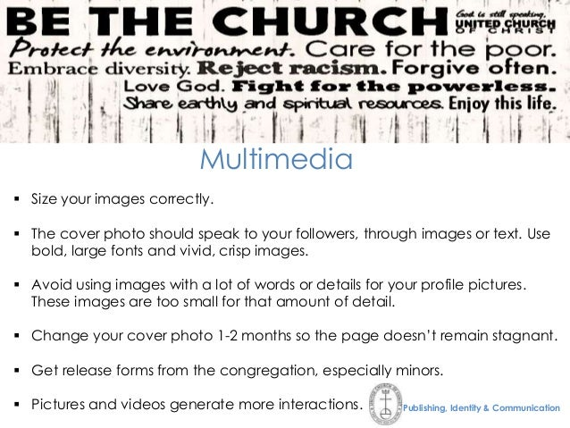 Social Media Tips for Churches, Pastors, and Lay Leaders
