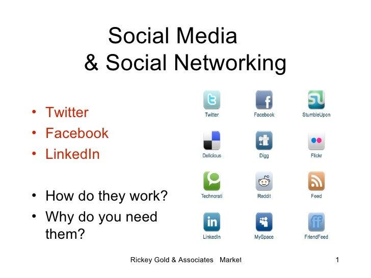 Social Media  & Social Networking <ul><li>Twitter </li></ul><ul><li>Facebook </li></ul><ul><li>LinkedIn </li></ul><ul><li>...