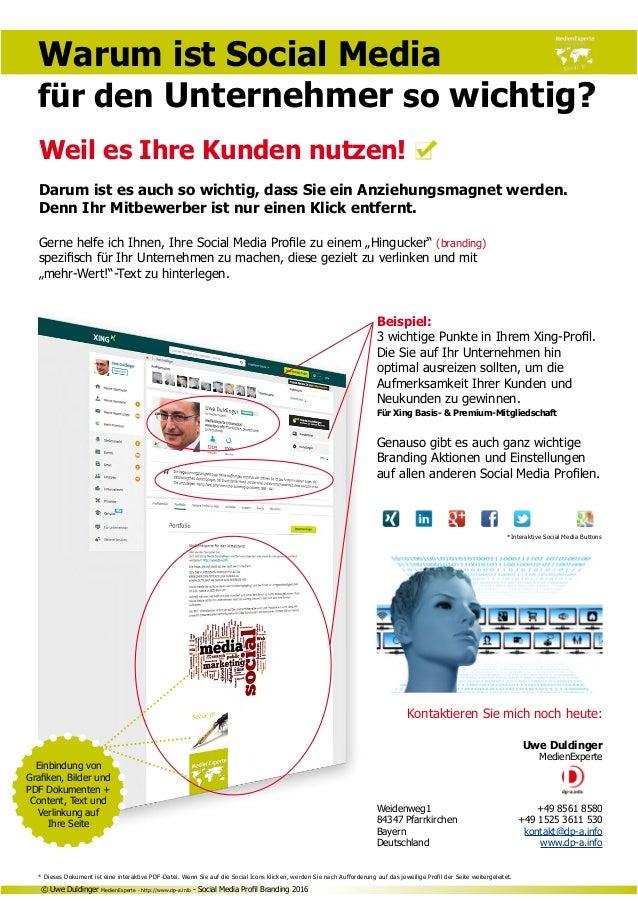 Kontaktieren Sie mich noch heute: Uwe Duldinger MedienExperte Weidenweg1 +49 8561 8580 84347 Pfarrkirchen +49 1525 3611 ...