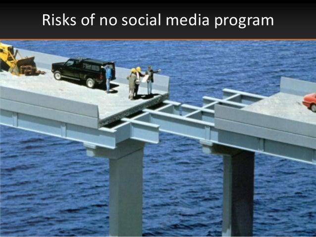 Risks of no social media program