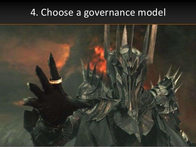 4. Choose a governance model