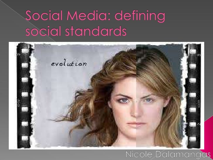    Social media as a new    medium of communication   Images projected through    social media can be viewed    by anyon...