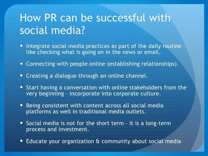 social media public relations pdf