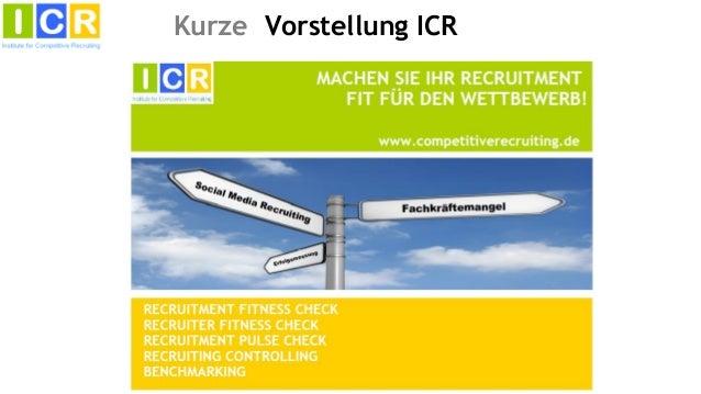Social Media Recruiting - Hype oder Hilfe?  Key note von Wolfgang Brickwedde Slide 3