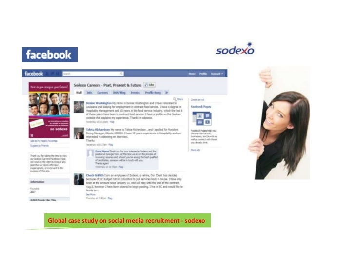 Social media recruitment case studies