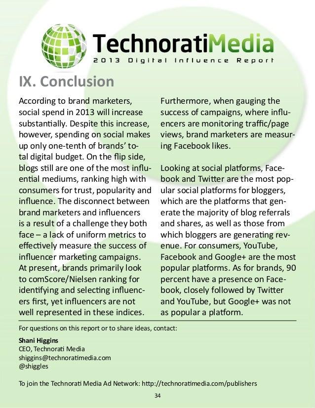 Social media report 2013