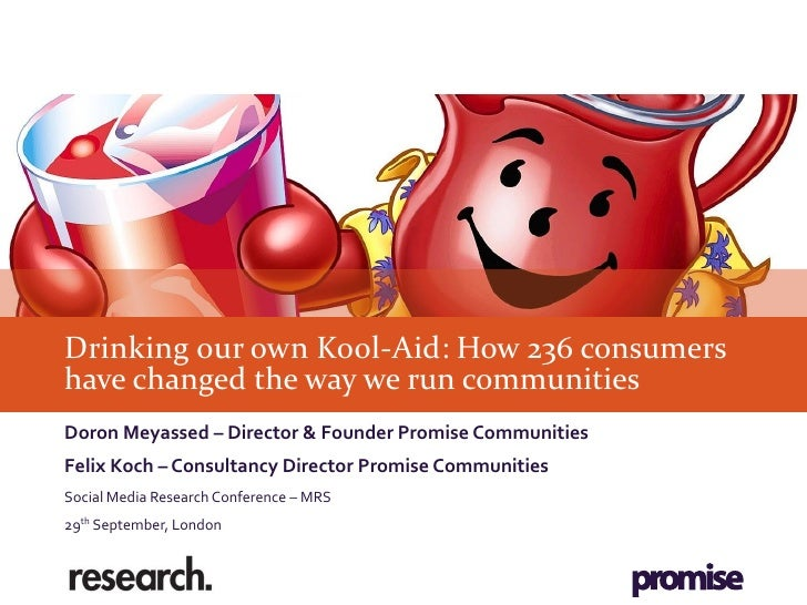 Drinking our own Kool-Aid: How 236 consumershave changed the way we run communitiesDoron Meyassed – Director & Founder Pro...