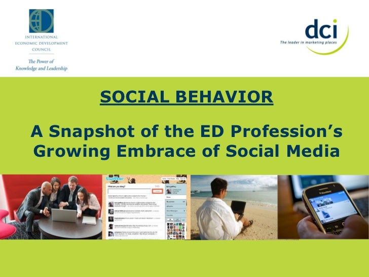 SOCIAL BEHAVIORA Snapshot of the ED Profession'sGrowing Embrace of Social Media