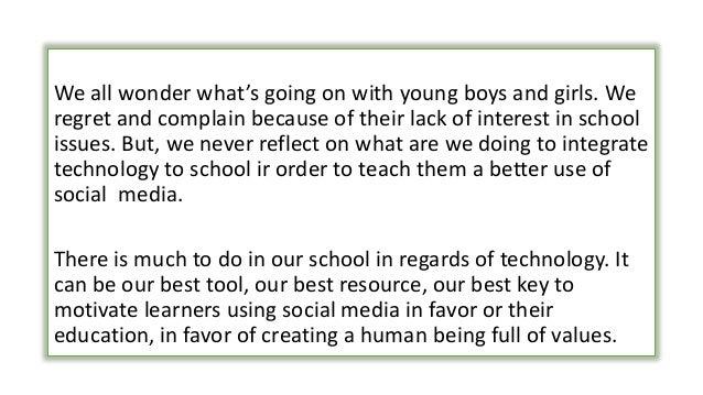 social media and education pdf