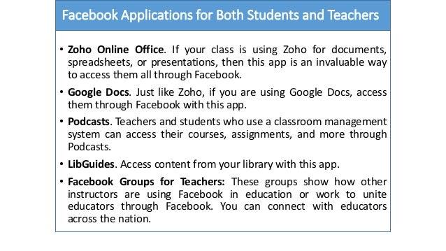 Horseshoe Classroom Design Advantages And Disadvantages : Social media and education advantages disadvantages