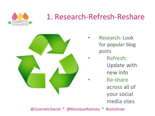 Social Media Update and Top Tips to Improve Exposure Slide 2