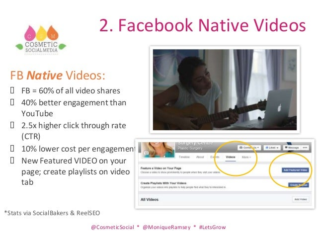 Social Media Update and Top Tips to Improve Exposure Slide 3