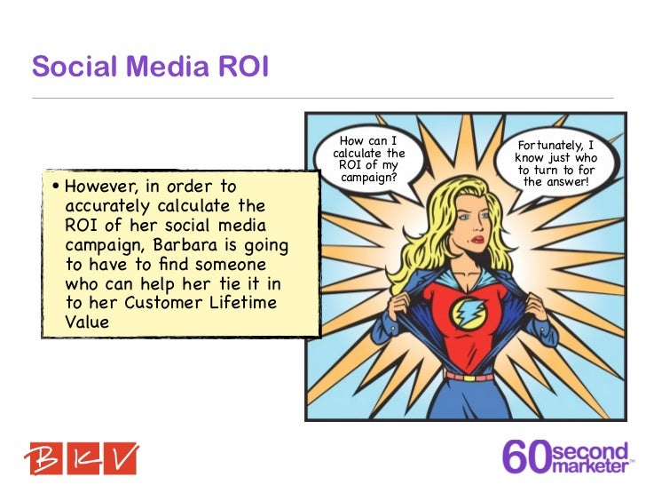 Social Media ROI                                   How can I       Fortunately, I                                  calcula...