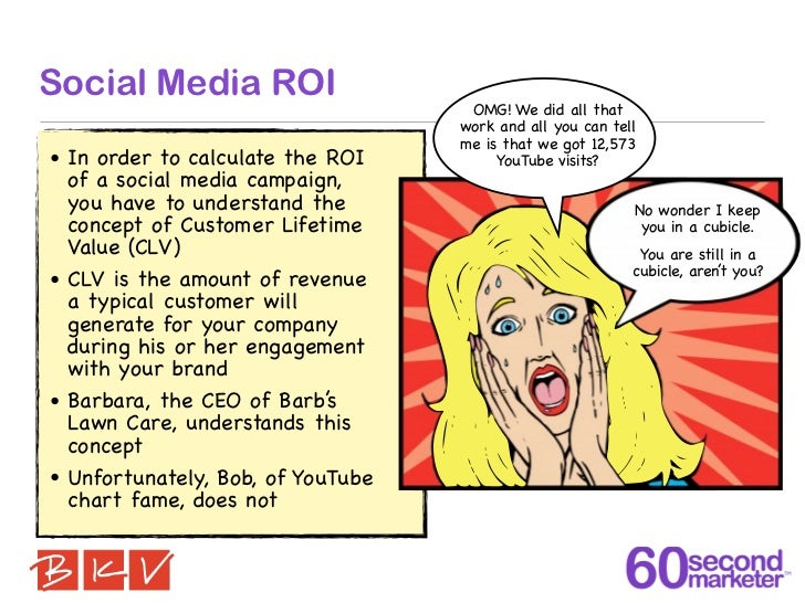 Social Media ROI                                    OMG! We did all that                                   work and all yo...
