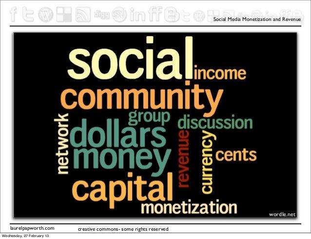 Social Media Monetization and Revenue                                     ConnectNow CNow                                 ...