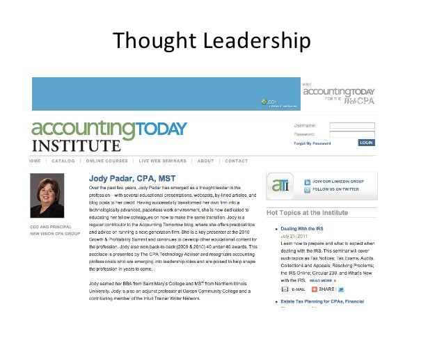 Follow the links     How social media can be used for leadership &                                ...
