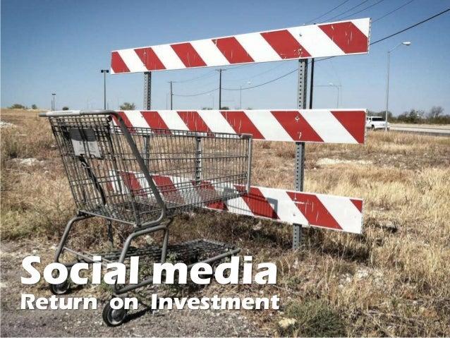 Social mediaReturn on Investment