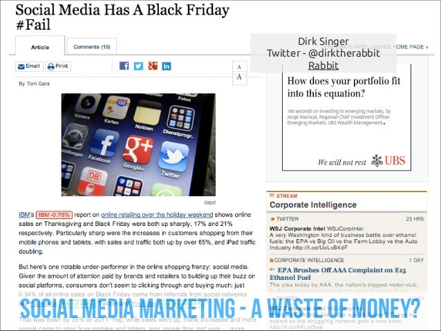 Dirk Singer                         Twitter - @dirktherabbit                                   Rabbitsocial media marketin...